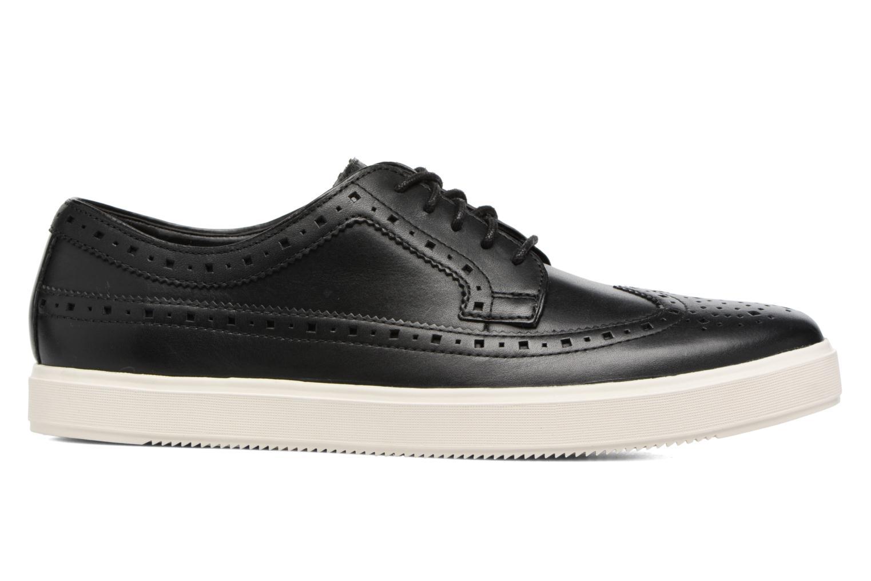 Chaussures à lacets Clarks Calderon Limit Noir vue derrière