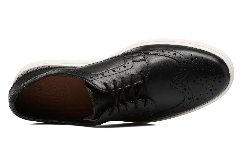 Chaussures à lacets Clarks Calderon Limit Noir vue gauche