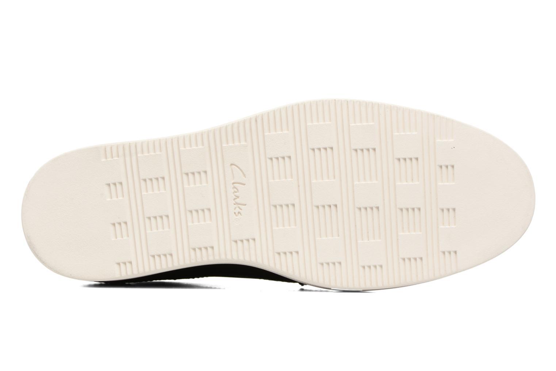 Chaussures à lacets Clarks Calderon Limit Noir vue haut