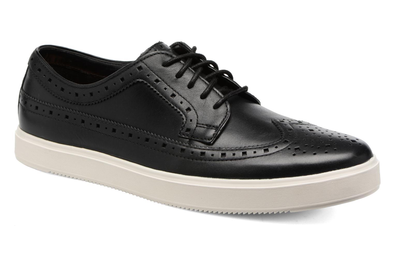 Chaussures à lacets Clarks Calderon Limit Noir vue détail/paire