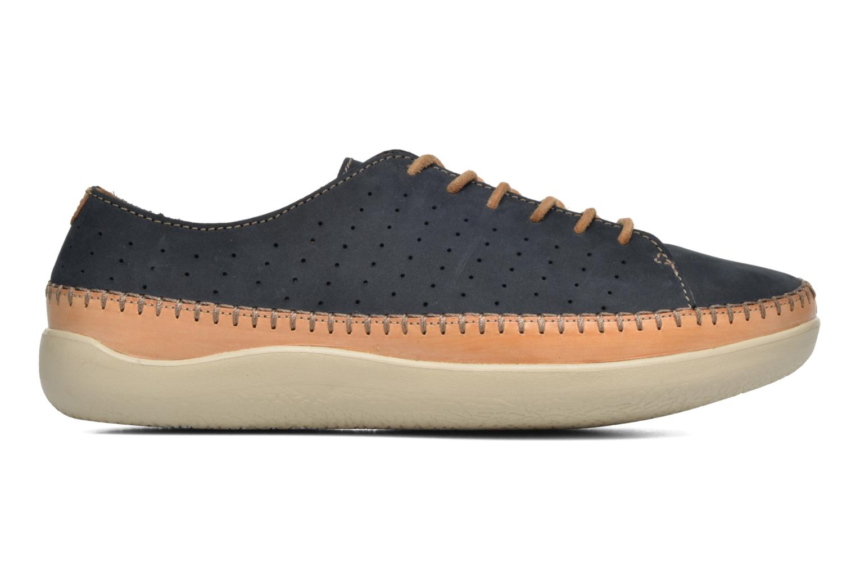Chaussures à lacets Clarks Veho Edge Bleu vue derrière