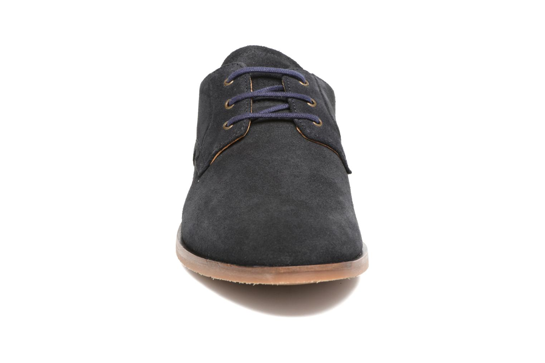 Chaussures à lacets Schmoove Eros Derby Bleu vue portées chaussures