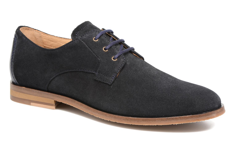 Chaussures à lacets Schmoove Eros Derby Bleu vue détail/paire
