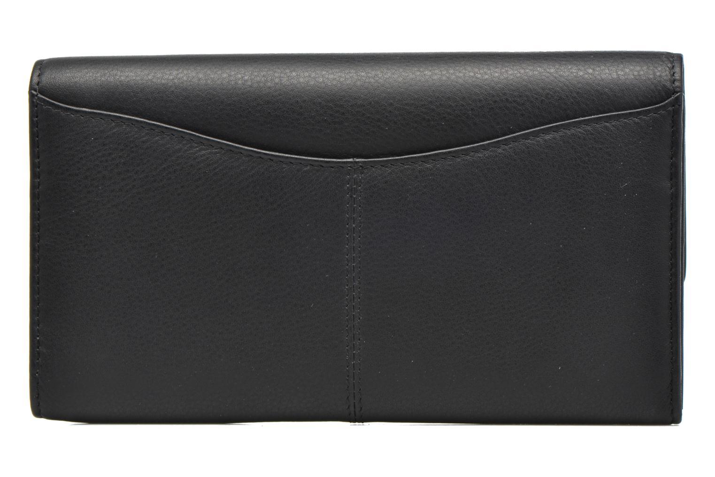 Portemonnaies & Clutches Le Tanneur VALENTINE Porte-monnaie long anti-RFID schwarz ansicht von vorne