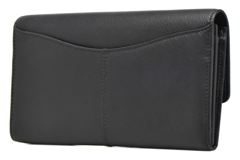VALENTINE Porte-monnaie long anti-RFID Noir