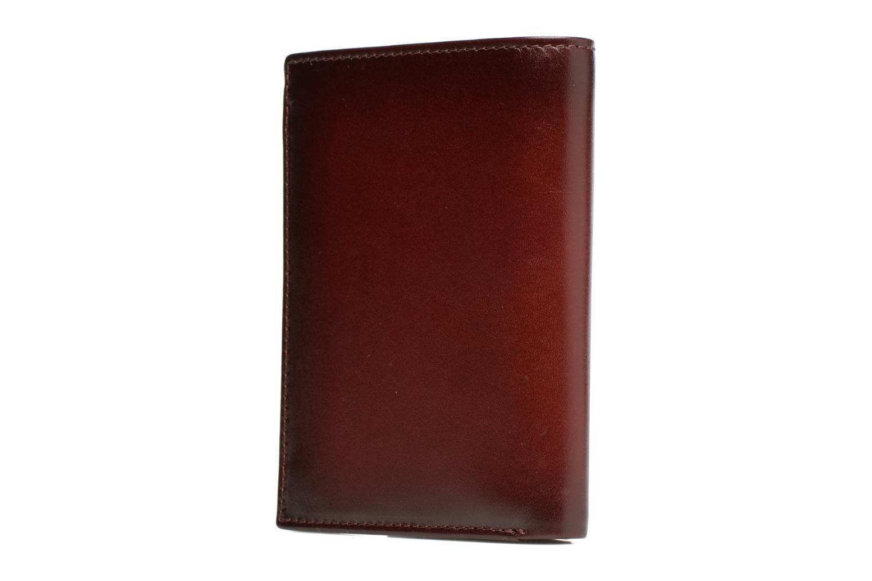 CORENTIN Portefeuille zippée anti-RFID Bourgogne
