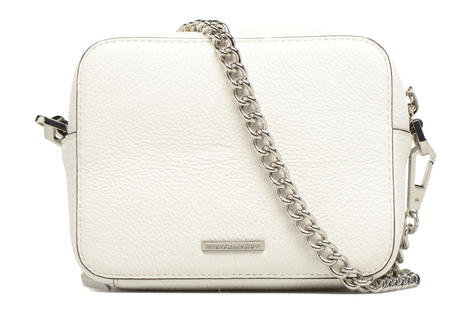Bolsos de mano Rebecca Minkoff 4 ZIP MOTO CAMERA BAG Blanco vista de frente