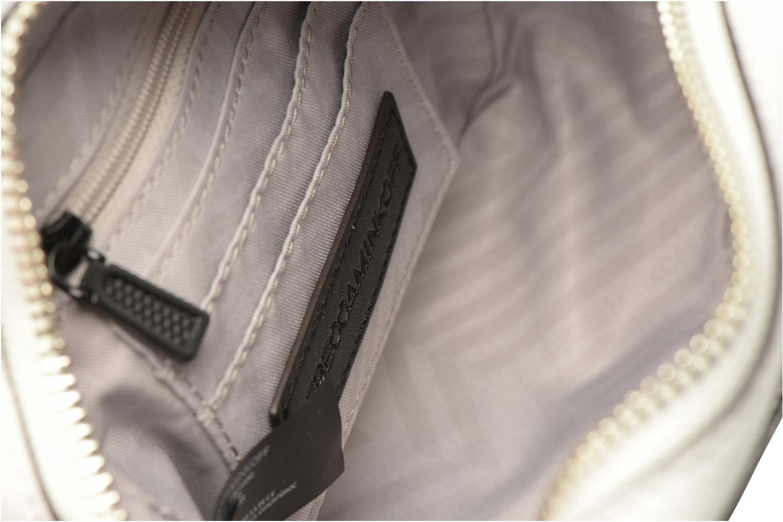 Handbags Rebecca Minkoff 4 ZIP MOTO CAMERA BAG White back view