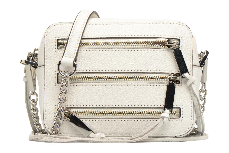 Handtaschen Rebecca Minkoff 4 ZIP MOTO CAMERA BAG weiß detaillierte ansicht/modell