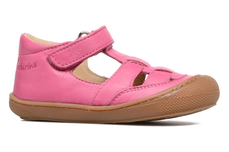 Sommerschuhe Naturino Camilla 3997 rosa ansicht von hinten