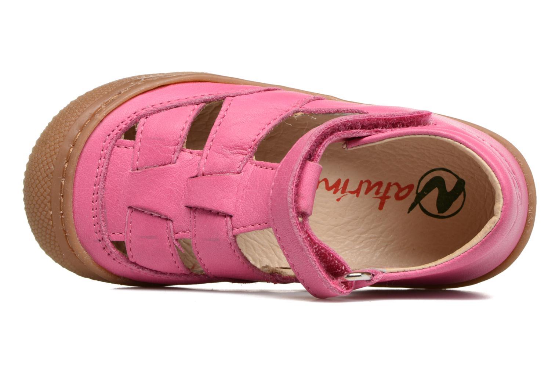 Sommerschuhe Naturino Camilla 3997 rosa ansicht von links