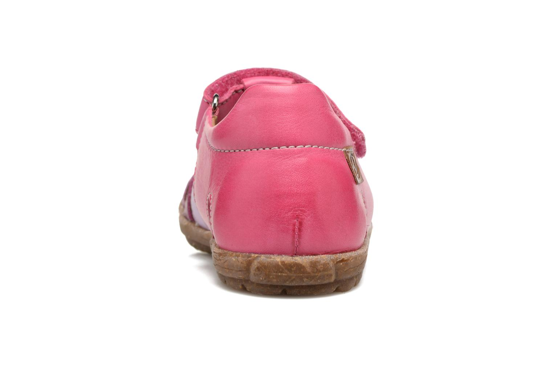 Sandales et nu-pieds Naturino See Rose vue droite