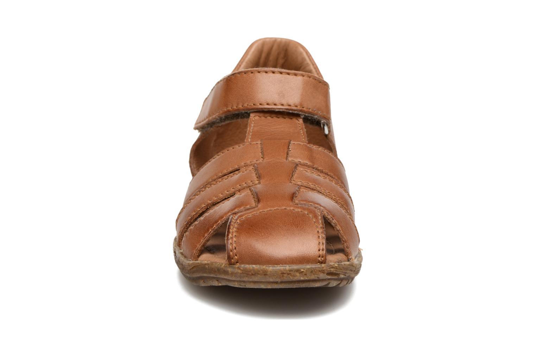 Sandales et nu-pieds Naturino See Marron vue portées chaussures