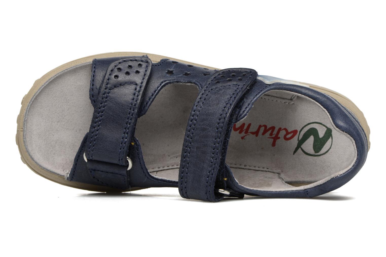 Sandali e scarpe aperte Naturino Angelo 5675 Azzurro immagine sinistra