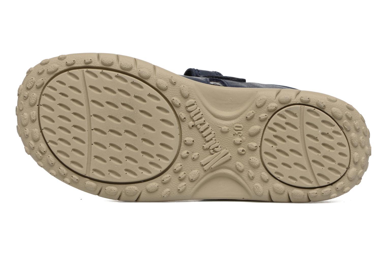 Sandali e scarpe aperte Naturino Angelo 5675 Azzurro immagine dall'alto