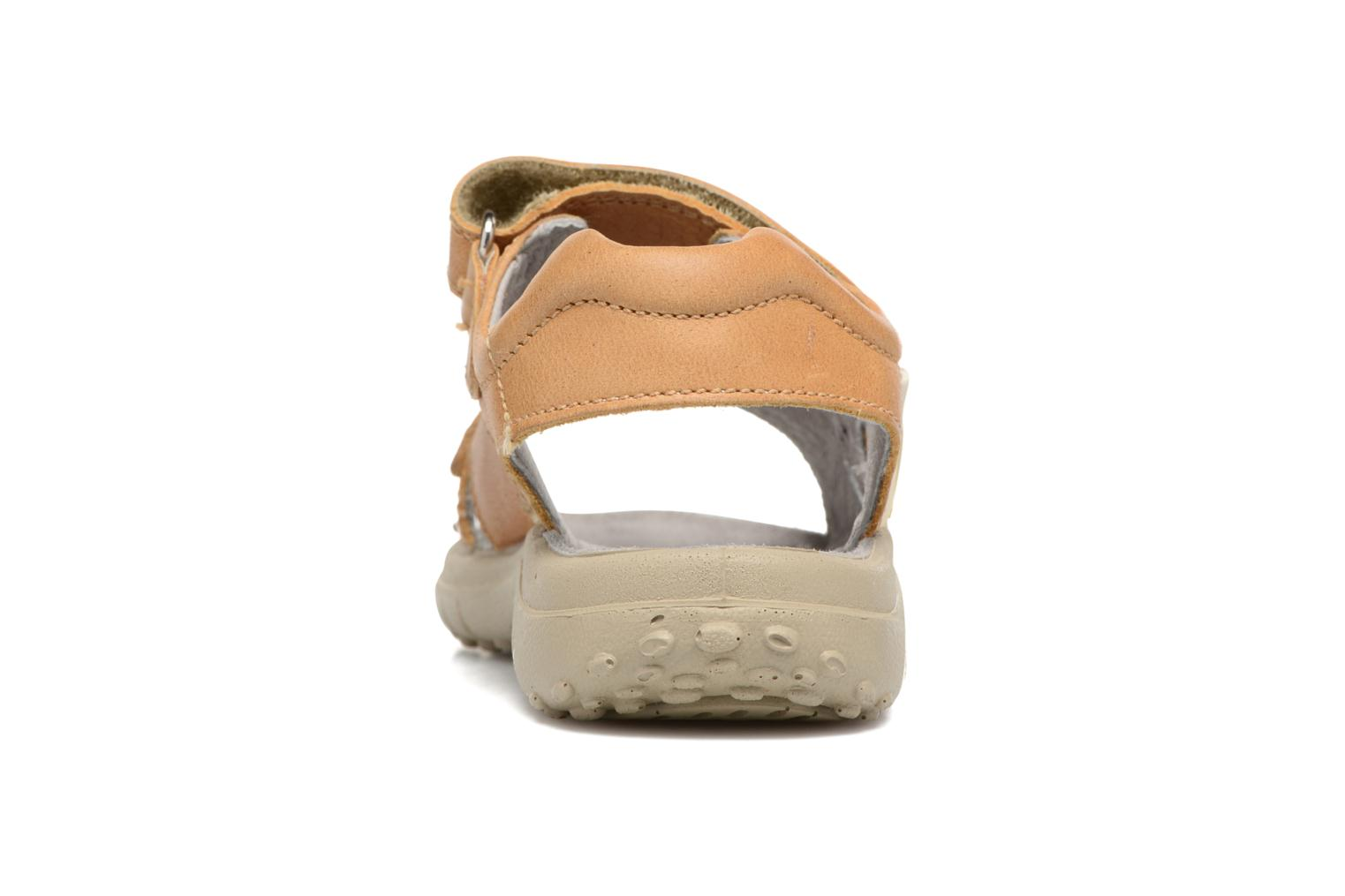 Sandals Naturino Angelo 5675 Yellow view from the right