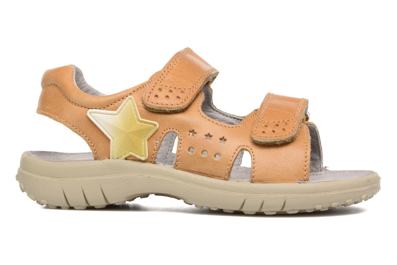 Sandales et nu-pieds Naturino Angelo 5675 Jaune vue derrière