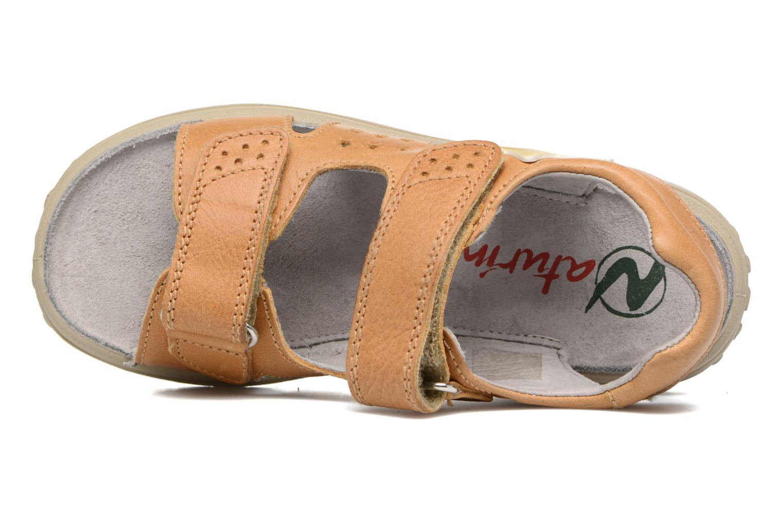 Sandales et nu-pieds Naturino Angelo 5675 Jaune vue gauche