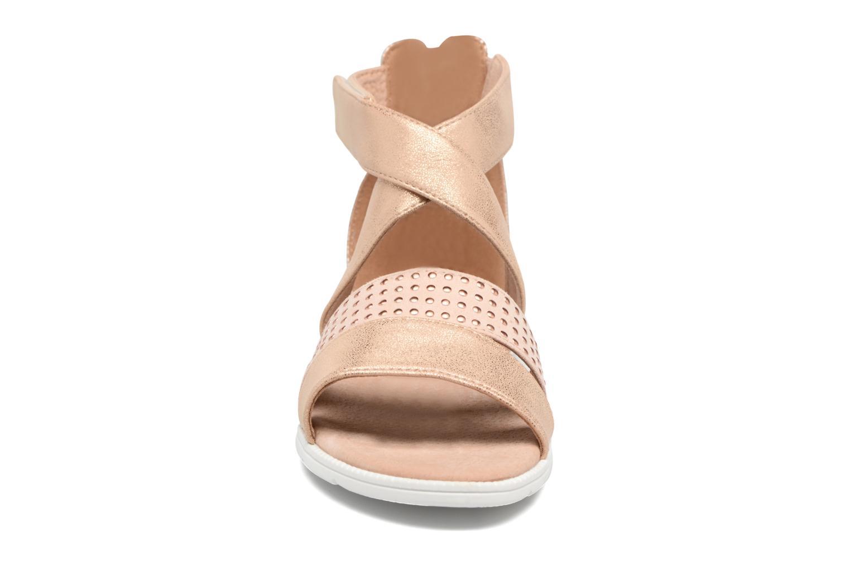 Sandales et nu-pieds Bullboxer Katia Blanc vue portées chaussures