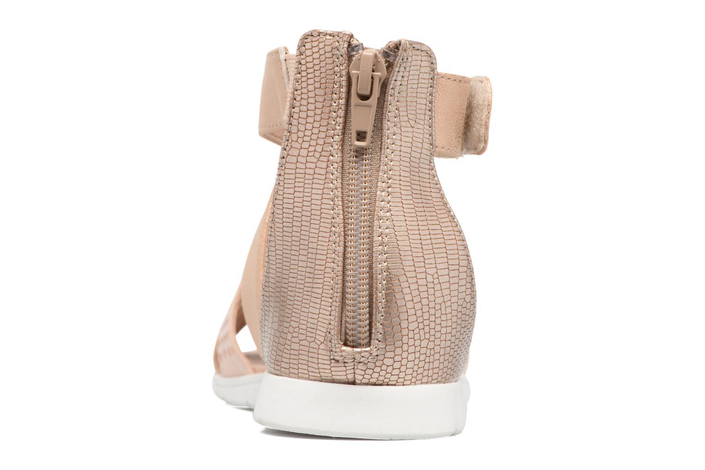 Sandales et nu-pieds Bullboxer Katia Blanc vue droite