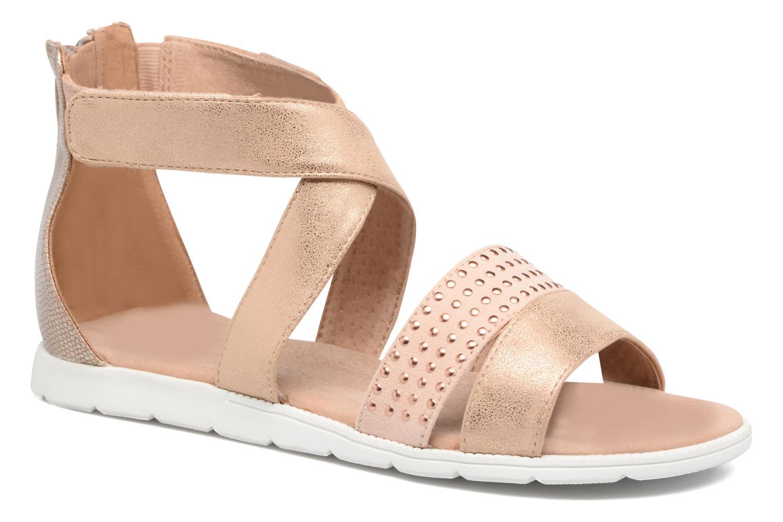 Sandales et nu-pieds Bullboxer Katia Blanc vue détail/paire