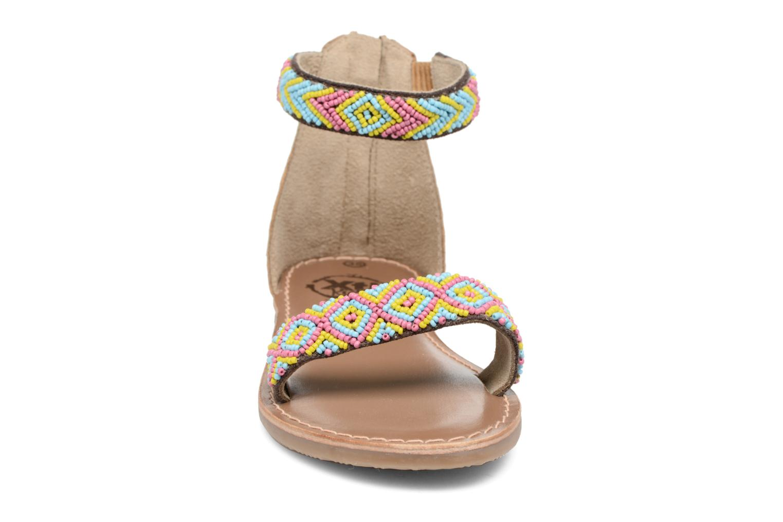 Sandales et nu-pieds Xti Brigida Marron vue portées chaussures