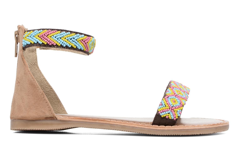 Sandales et nu-pieds Xti Brigida Marron vue derrière