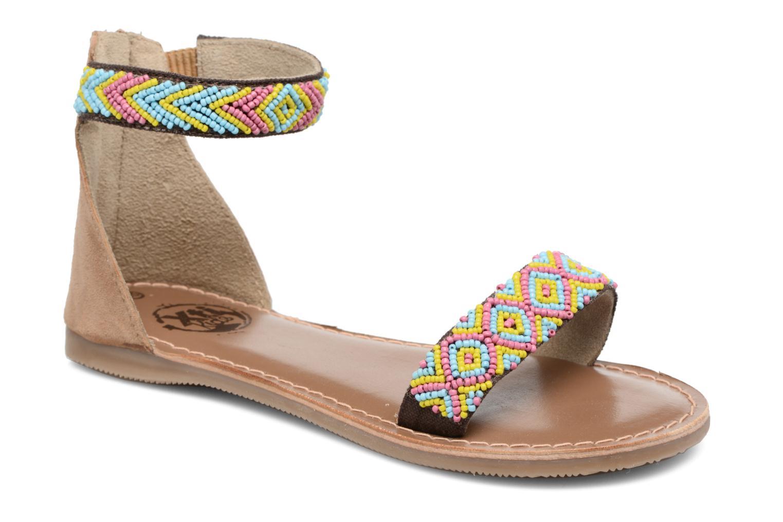 Sandales et nu-pieds Xti Brigida Marron vue détail/paire