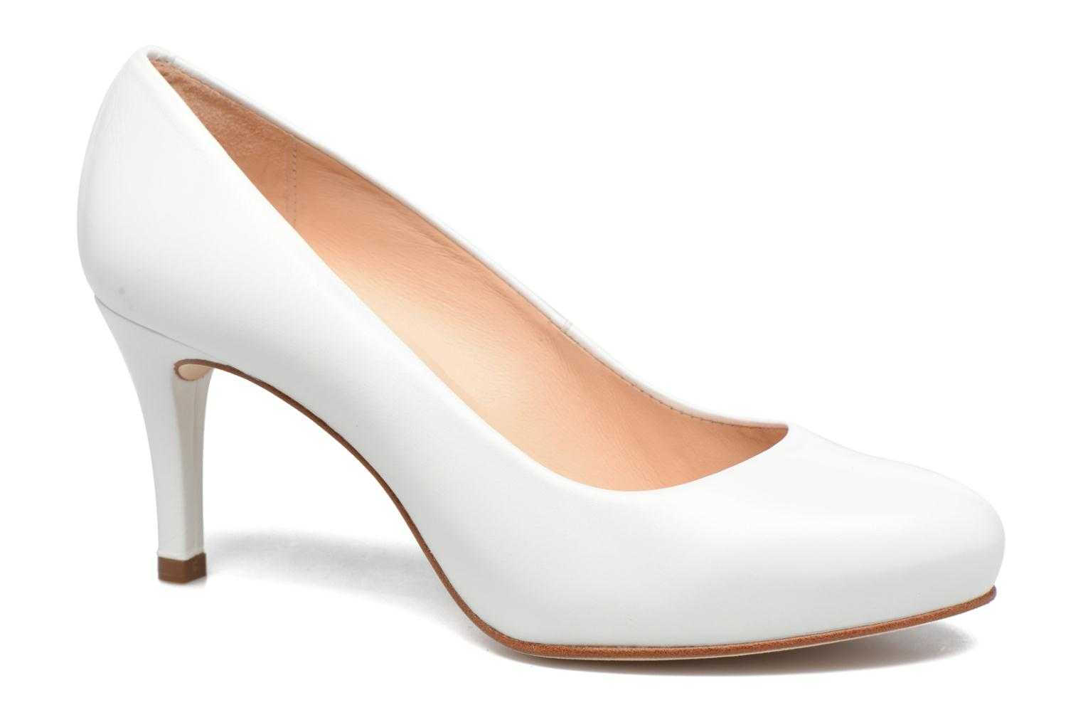 High heels Unisa Nade White detailed view/ Pair view