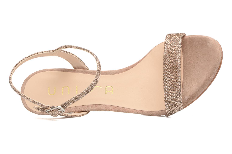 Sandales et nu-pieds Unisa Olea Beige vue gauche
