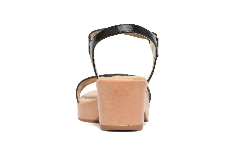 Sandales et nu-pieds Unisa Irita 3 Noir vue droite