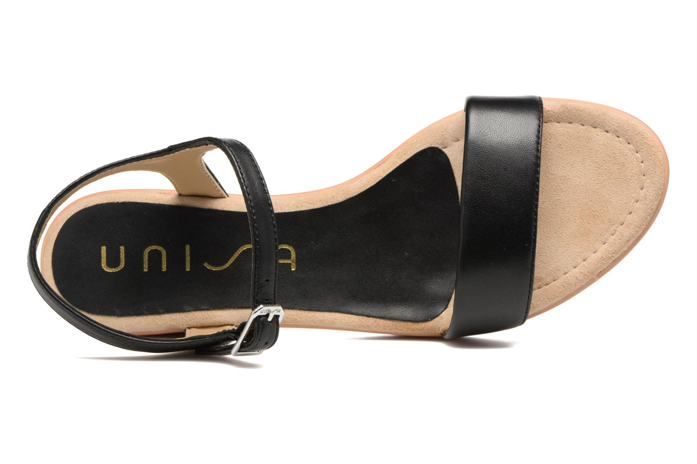 Sandales et nu-pieds Unisa Irita 3 Noir vue gauche