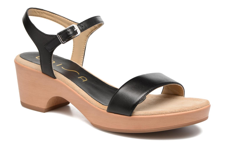 Sandales et nu-pieds Unisa Irita 3 Noir vue détail/paire