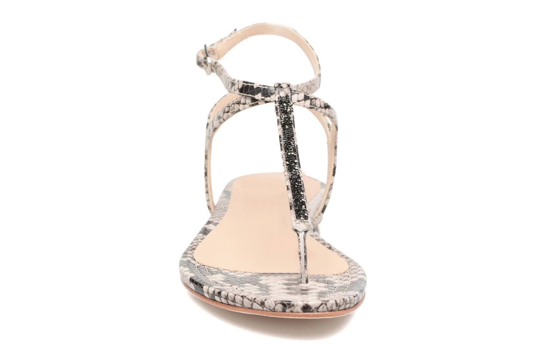 Sandales et nu-pieds Unisa Charle Gris vue portées chaussures