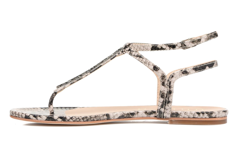 Sandales et nu-pieds Unisa Charle Gris vue face