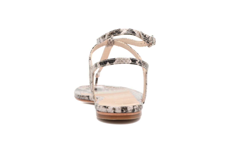 Sandales et nu-pieds Unisa Charle Gris vue droite
