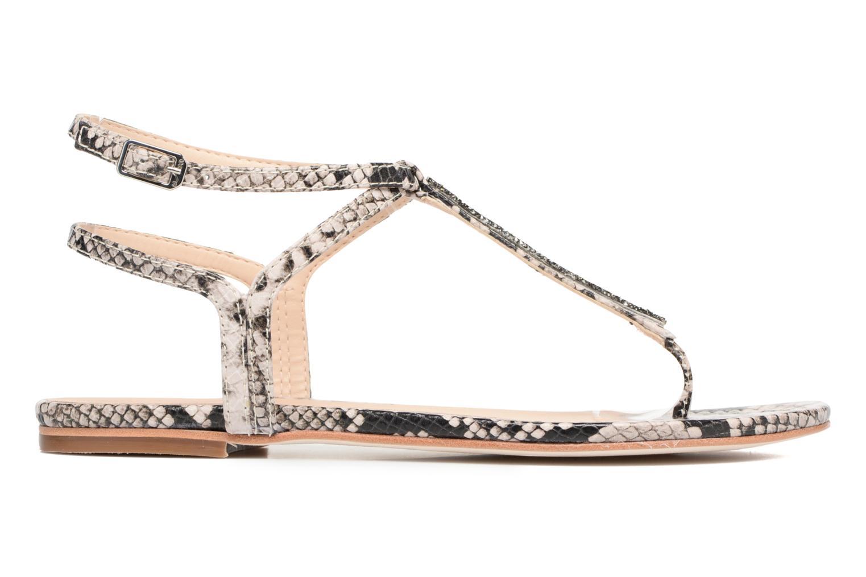 Sandales et nu-pieds Unisa Charle Gris vue derrière