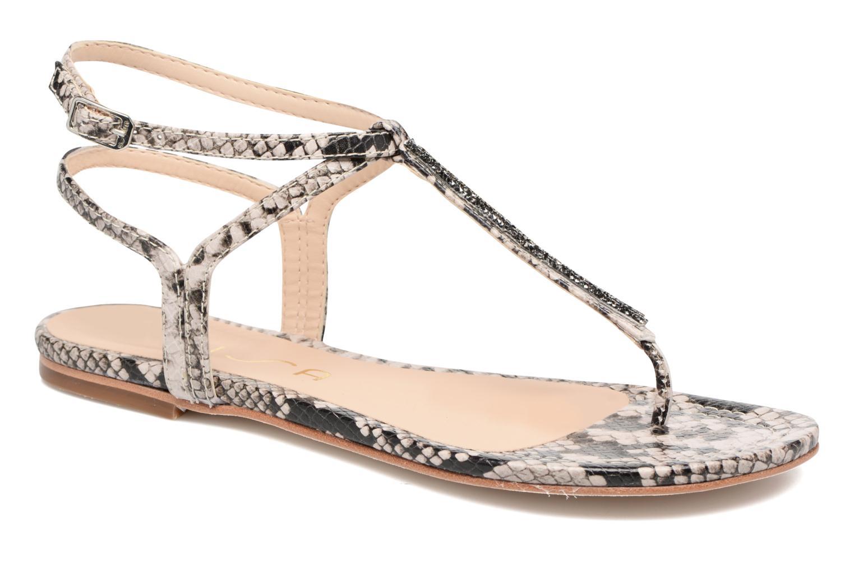 Sandales et nu-pieds Unisa Charle Gris vue détail/paire