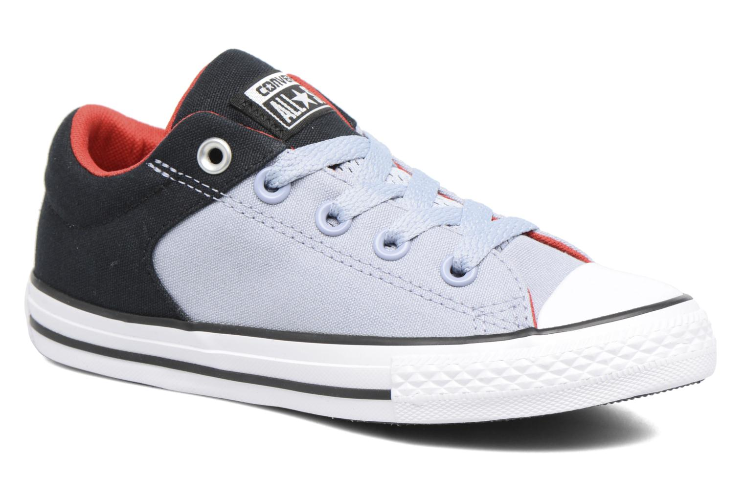 Chuck Taylor All Star High Street Black/Blue Granite
