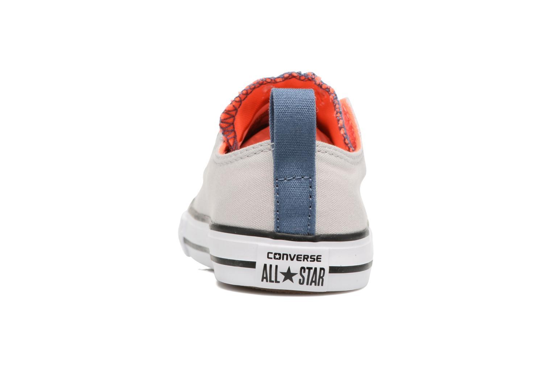 Sneakers Converse Chuck Taylor All Star Simple Slip Grigio immagine destra