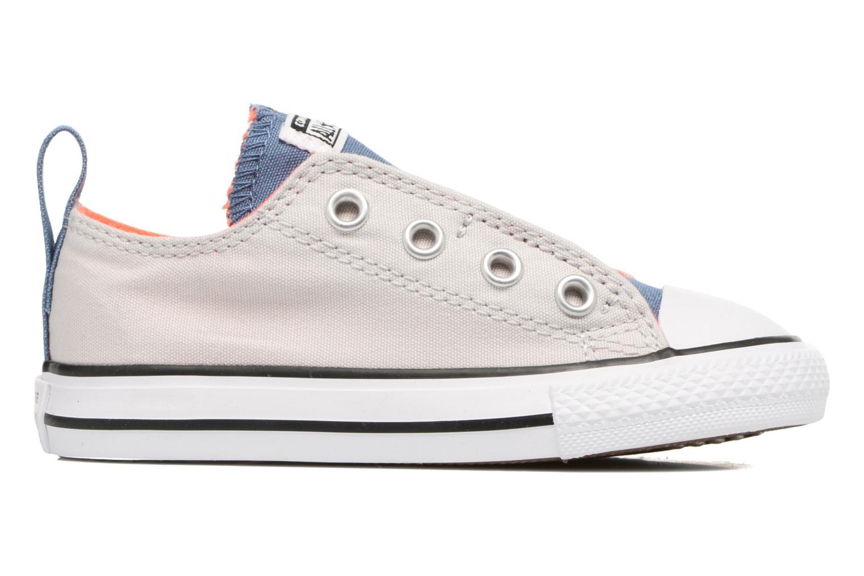 Sneakers Converse Chuck Taylor All Star Simple Slip Grigio immagine posteriore