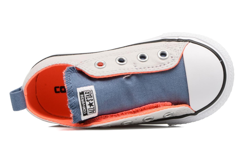 Sneakers Converse Chuck Taylor All Star Simple Slip Grigio immagine sinistra