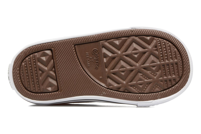 Sneakers Converse Chuck Taylor All Star Simple Slip Grigio immagine dall'alto