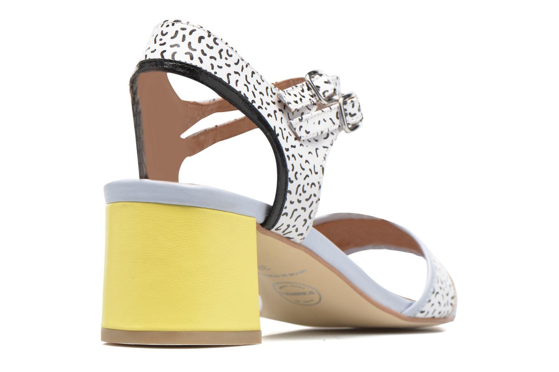 Pastel Belle #11 Mestizo lavanda + print fideua +jaune