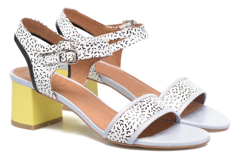 Sandales et nu-pieds Made by SARENZA Pastel Belle #11 Multicolore vue derrière
