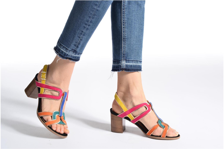 Sandales et nu-pieds Made by SARENZA Frida Banana #1 Multicolore vue bas / vue portée sac