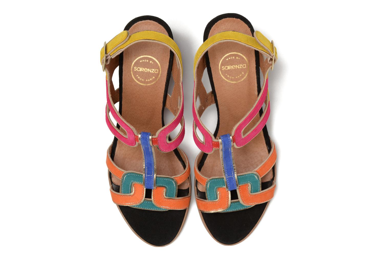 Sandales et nu-pieds Made by SARENZA Frida Banana #1 Multicolore vue portées chaussures