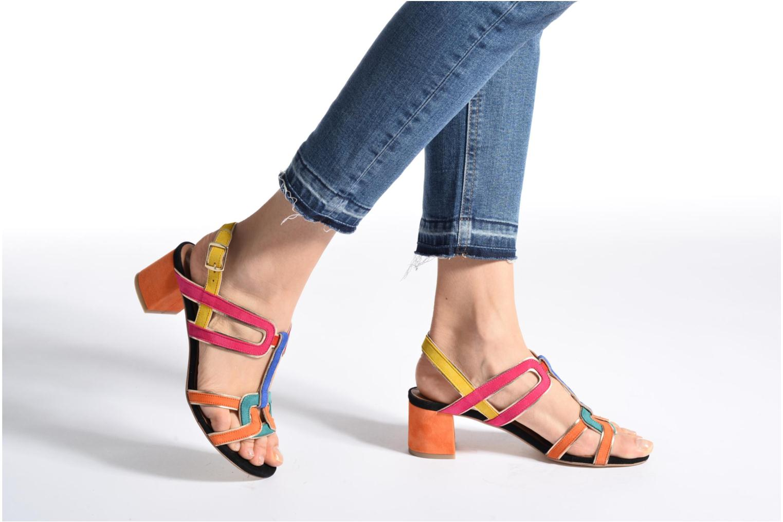 Sandales et nu-pieds Made by SARENZA Frida Banana #2 Multicolore vue bas / vue portée sac