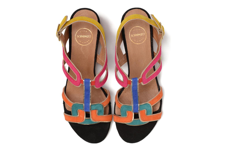 Sandales et nu-pieds Made by SARENZA Frida Banana #2 Multicolore vue portées chaussures