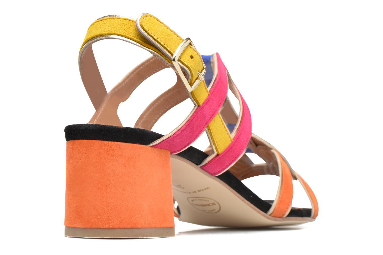 Sandales et nu-pieds Made by SARENZA Frida Banana #2 Multicolore vue face